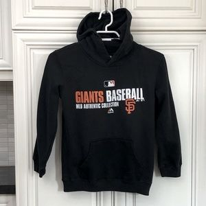 SF Giants baseball pullover hoodie
